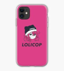 Supreme Lolicop (Candy / Pink) iPhone Case