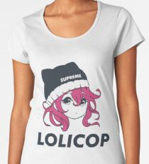 Supreme Lolicop (Candy / Pink) Premium Scoop T-Shirt