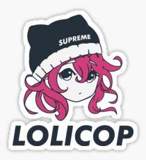 Supreme Lolicop (Candy / Pink) Glossy Sticker