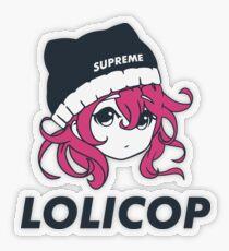Supreme Lolicop (Candy / Pink) Transparent Sticker