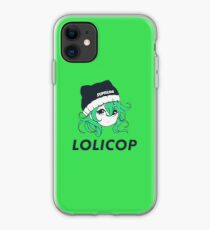 Supreme Lolicop (Radioactive / Green) iPhone Case