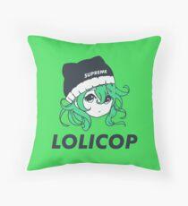 Supreme Lolicop (Radioactive / Green) Floor Pillow