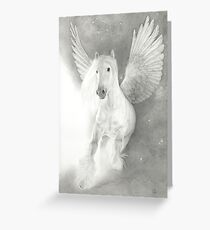 Legends Of Equus ~ Thunder In The Heavens Greeting Card