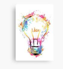 Idea! Canvas Print