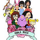 Girls Rule by restlessbear
