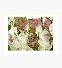 Floral Arranging Art Print
