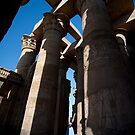 Karnak temple by david marshall