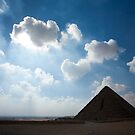Pyramids at Giza 2 by david marshall