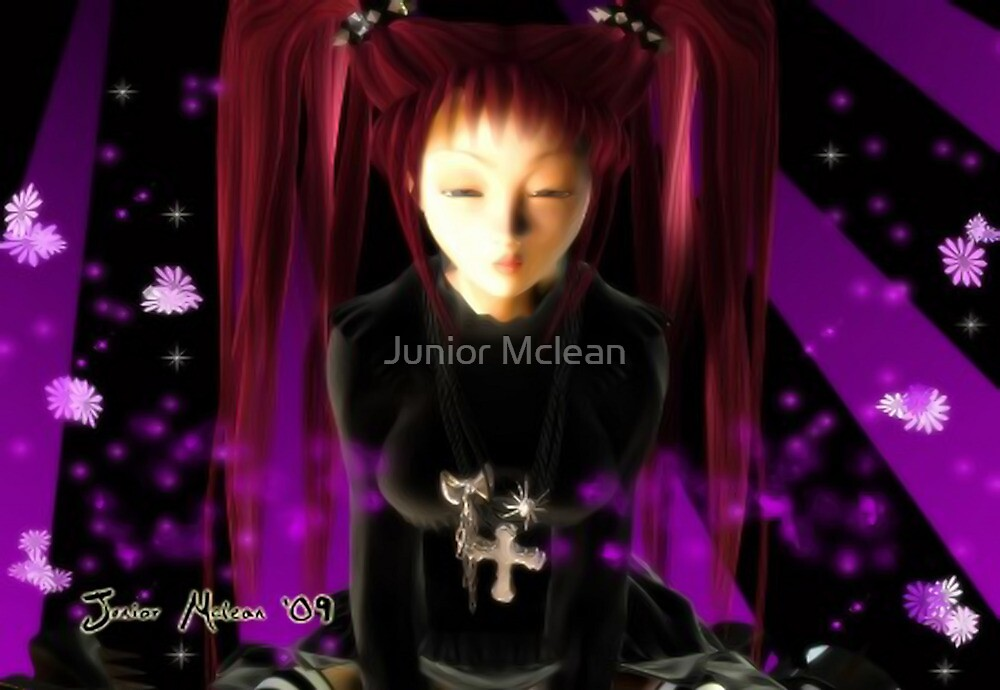 Gothic Girl by Junior Mclean