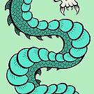 Demon Skull Dragon by Brett Gilbert