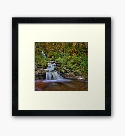 ... And Down It Goes... Framed Print