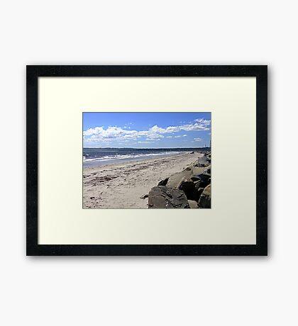 Crescent Beach, South-West Framed Print