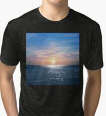 Sunny Morning At The Red Sea Tri-blend T-Shirt