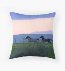 Wait For Me! Throw Pillow