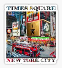Times Square II Special Edition I Sticker