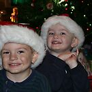 Dear Santa,  We Promise We Have Been Good by DebbieCHayes
