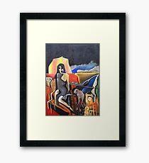 Brie and the Hyaenas Framed Print