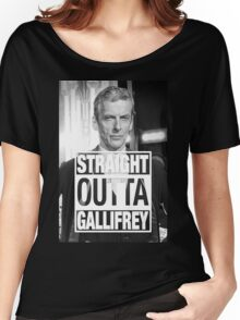 Straight Outta Gallifrey- CAPALDI Women's Relaxed Fit T-Shirt