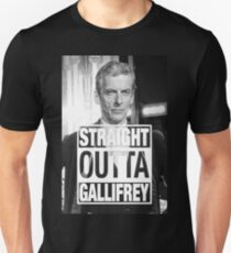 Straight Outta Gallifrey- CAPALDI T-Shirt