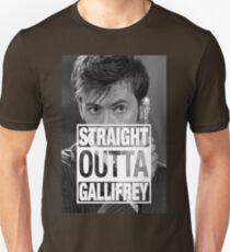 Straight Outta Gallifrey- TENNANT T-Shirt