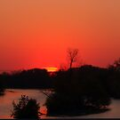Sunset on the Fox River by ZombieEnnui