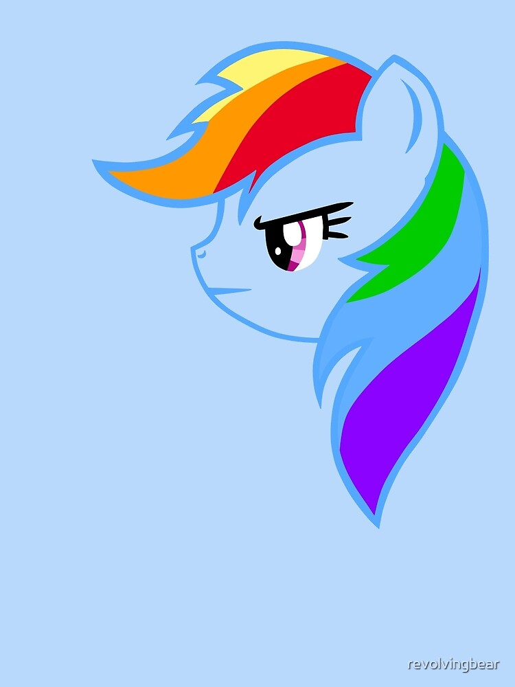 Rainbow Dash by revolvingbear