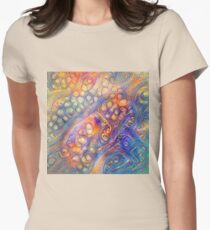 DeepDreamed Fitted T-Shirt