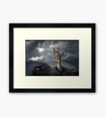 Zombrarian rising 2 Framed Print