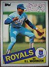 489 - U.L. Washington by Foob's Baseball Cards