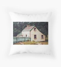 The old homestead - Ox Park - Tryphena, Gt. Barrier Island. Throw Pillow