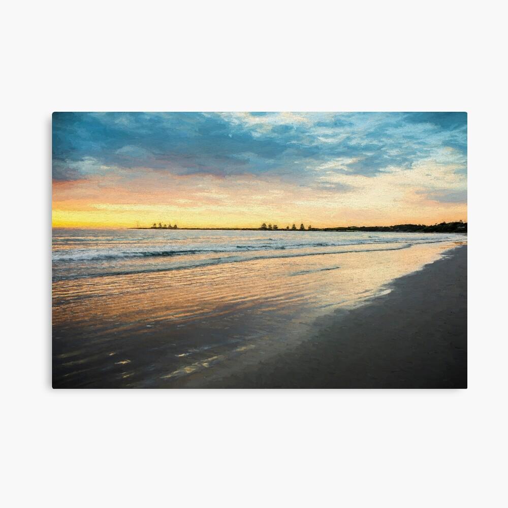 Sunrise at Port Fairy  (Digital Painting) Canvas Print