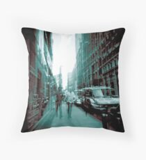 Definitive Blue men. Throw Pillow