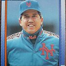 493 - Dave Johnson by Foob's Baseball Cards