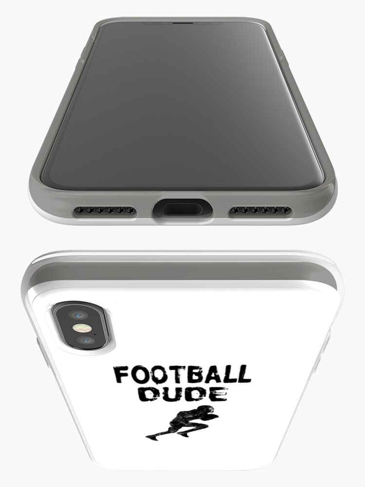 Alternative Ansicht von Football Dude  - Funny Football Player Gift for Men Boys Teens  iPhone-Hülle & Cover