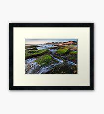 Rock Walker Framed Print
