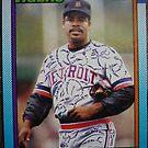494 - Gary Ward by Foob's Baseball Cards