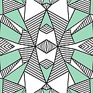 Triangle Tribal Mint by ProjectM
