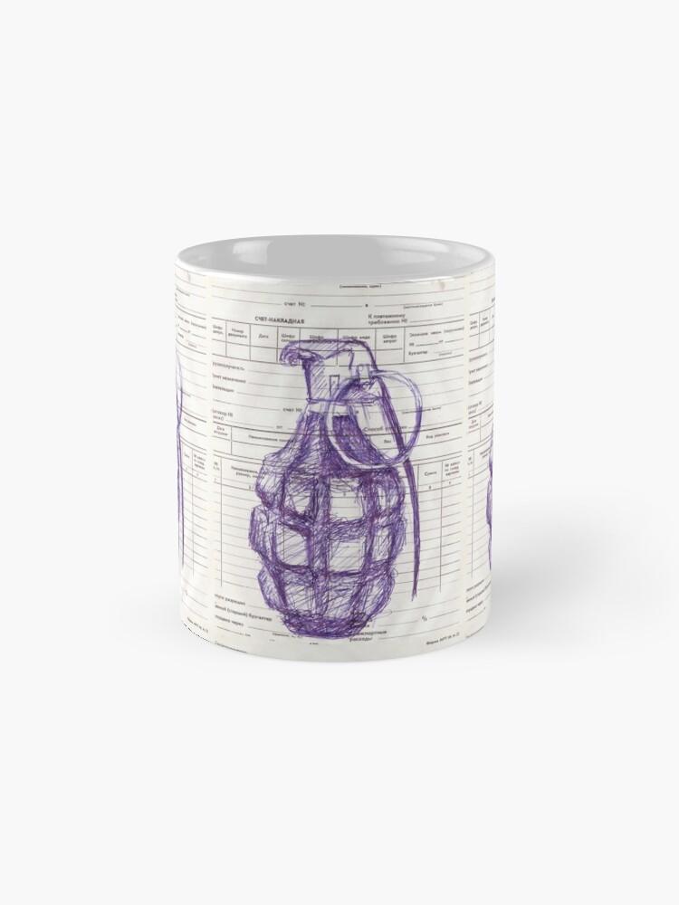 Alternate view of Grenade Mug