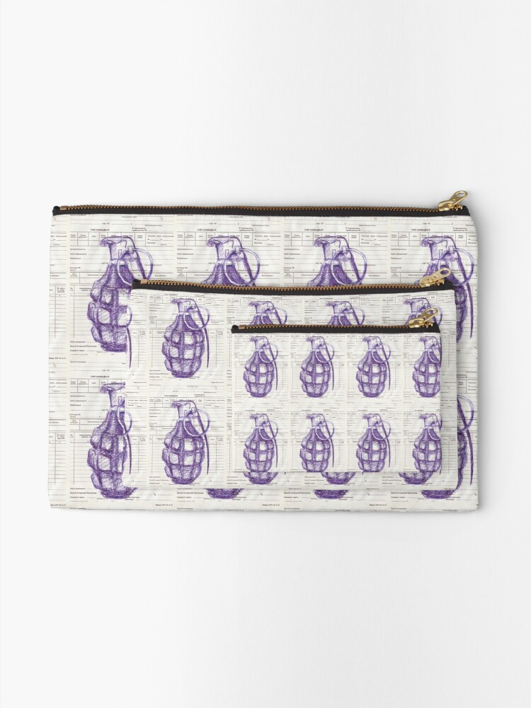 Alternate view of Grenade Zipper Pouch