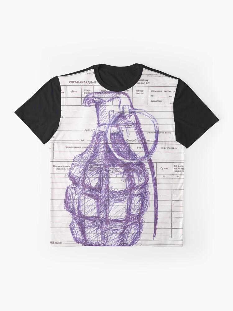 Alternate view of Grenade Graphic T-Shirt