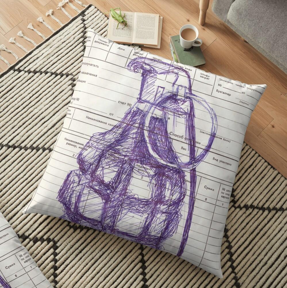 Grenade Floor Pillow