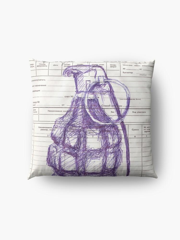 Alternate view of Grenade Floor Pillow