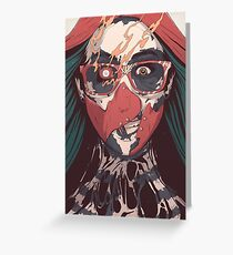 SELF ✖ INFLICTED Greeting Card