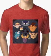 Sony Mascots Tri-blend T-Shirt
