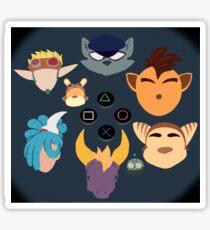 Sony Mascots Sticker