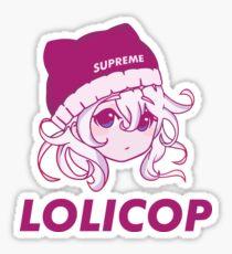 Supreme Lolicop (Pink Blush) LIMITED ED. Sticker