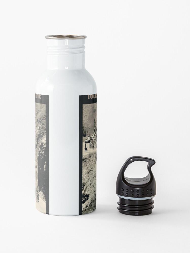 Alternate view of  TOUR de FRANCE: Vintage Galabier Mountain Pass Advertising Print Water Bottle