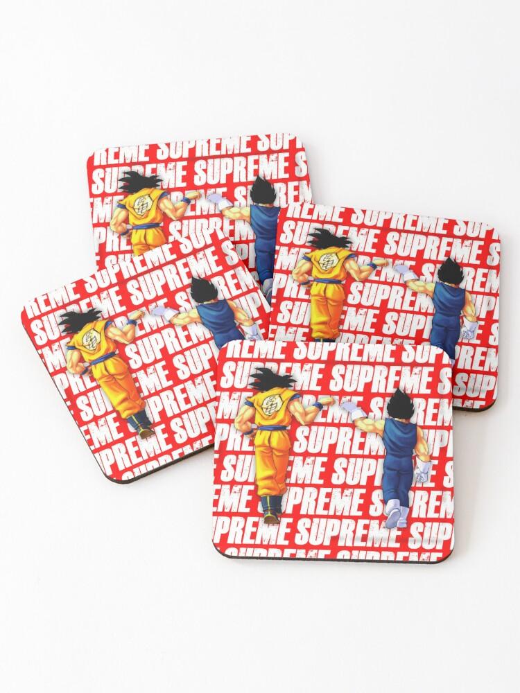 'Supreme Gods fist bump' Coasters by SyanArt