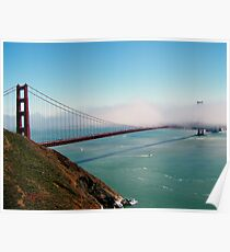 Golden Gate Bridge - Marin Headlands Poster