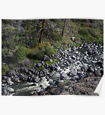 River below Poster